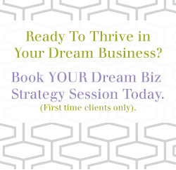 Dream Biz Breakthrough Session